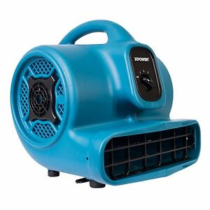 XPOWER P-400 1/4 HP Lightweight Industrial Air Mover Carpet Dryer 1600 CFM