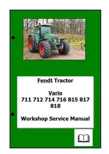 Fendt Vario Com3 711 a 818 Manual de Taller Digital