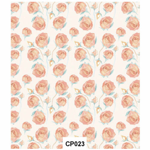 Craft Consortium Decoupage Printed Paper Pack of 3 CP023 English Rose