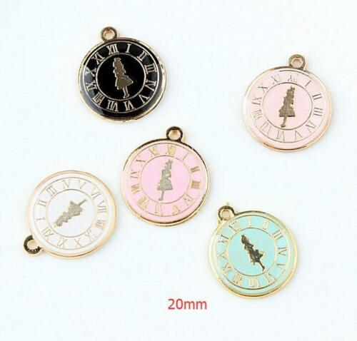 Lot Mix  Alice in wonderland Princess DIY Charms Jewelry Making Pendants  B-14