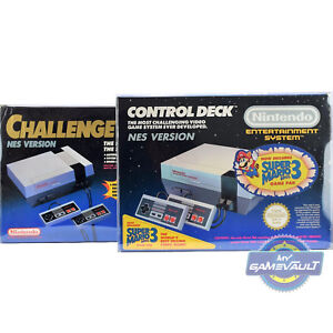 1-x-BOX-PROTECTOR-for-NES-Games-Console-Control-Deck-amp-Challenge-Set-0-5-Plastic