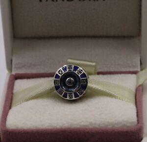 Authenic Pandora Blue Mosaic Charm 798031en195 1701 Ebay
