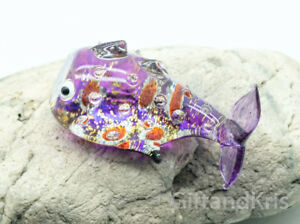 GPFI078 Fish Aquarium Glass Figurine Miniature Animal Hand Blown