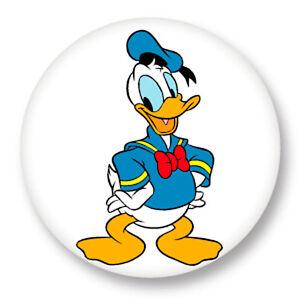Pin-Button-Badge-25mm-1-034-Donald-Duck-Walt-Disney-Dessin-Anime