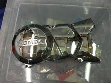 Honda C90 C50 C70 Chrome Left Side Engine Casing. Non Elec Start Models.