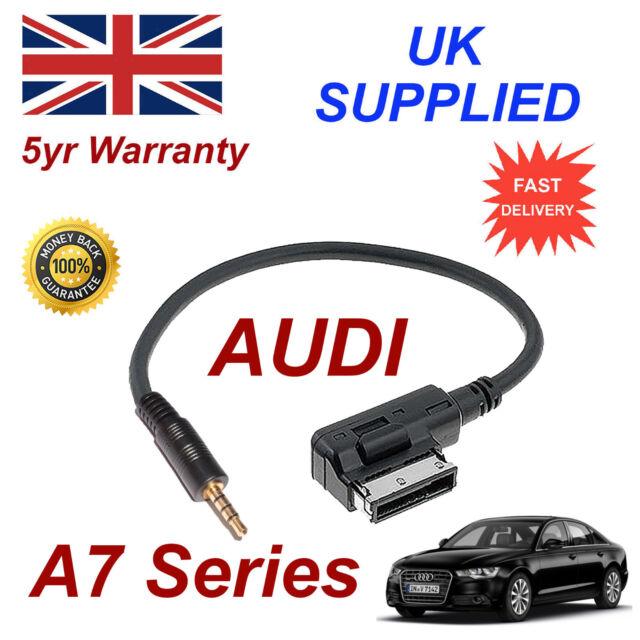 AUDI A7 Series ami mmi 4f0051510f Música Interfaz Jack de 3.5mm Entrada Cable