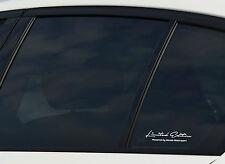 Limited Edition Powered by Mazda Motorsport Aufkleber Sticker Folie  2er SET!