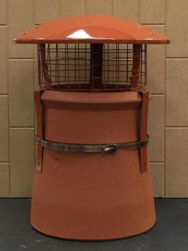 Cheminée oiseau et Pluie Capot avec maille carrée combustible solide//bois avec sangle fix