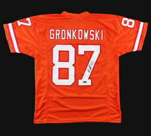signed gronk jersey