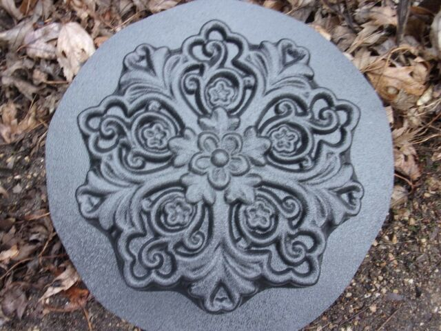 scallop tile mold plaster rapid set cement all mold