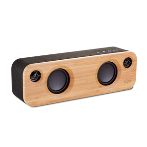 House of Marley Get Together Bamboo Mini Portable Wireless Bluetooth Speaker