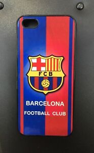 best sneakers 2ab90 34bdc Details about FC BARCELONA iPhone 5/5S/SE Rubber Case & Aluminium Cover  Better Protection