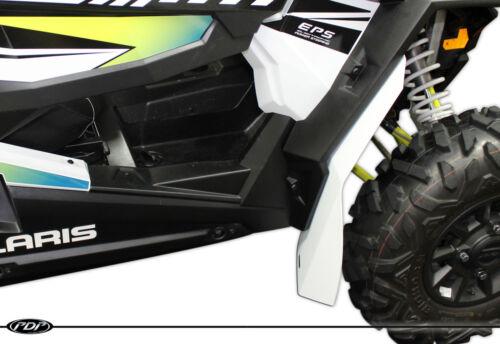 WHITE 4 Polaris RZR XP 1000 Fender Flares FULL SET XP 4 1000 RZR Mud Flaps