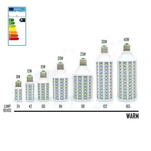 E27-E14-8W-12W-15W-20W-25W-30W-40W-LED-5730-SMD-110V-220V-Corn-Light-Bulb-Lamp