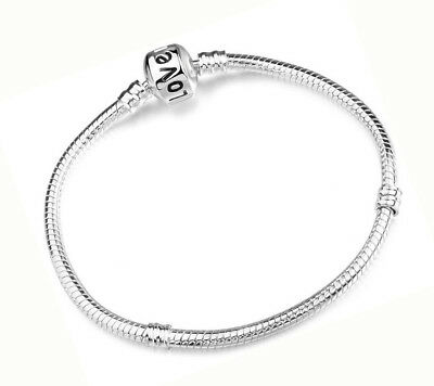 10 Piece Lot 925 Sterling Silver Bracelet Bangle Snake Love Chain D92