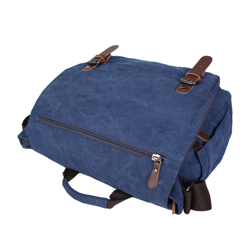 Duchamp Convertible Backpack-Messenger Bag Laptop Sleeve NWT $225 Navy Blue