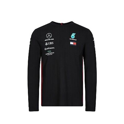 NEW 2020 Mercedes AMG F1 Team MENS Lewis Hamilton T Shirt Tee WHITE OFFICIAL
