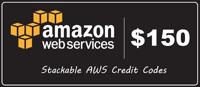AWS Amazon Web Services Credit $150 EC2 SQS RDS promocode Credit Code exp  2019 | eBay