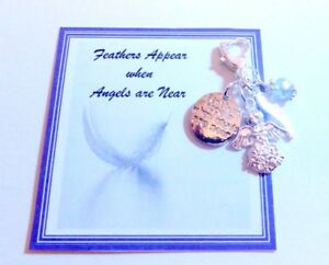 034-Feathers-Appear-When-Angels-are-Near-034-Remembrance-Memorial-Charm-Gift