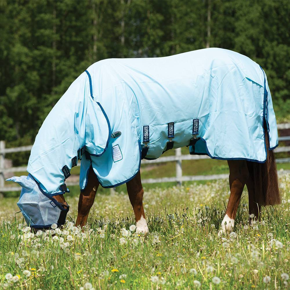 NEW Horseware Sweetitch Rambo Sweetitch Horseware Hoody Vamoose Fly Rug Fly Sheet FREE FLY MASK INC a7fc5e