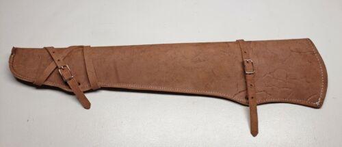 LEATHER RIFLE-GUN-SHOTGUN SCABBARD