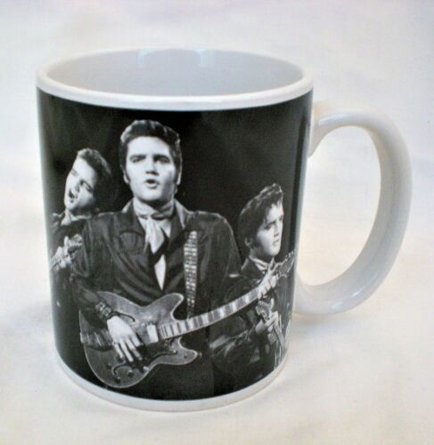 ELVIS PRESLEY Coffee Mug Taking Care Of Business Comeback Special NEW NO BOX