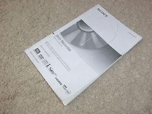 Sony-RDR-HX750-RDR-HX950-Anleitung-Manual-Deutsch