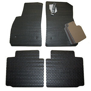 Acura Tsx All Weather Rubber Floor Mats Black Blue Tan