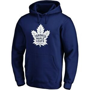 Fanatics-Men-039-s-Toronto-Maple-Leafs-Primary-Logo-Hoody