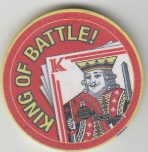 "King Of Battle Field Artillery Challenge Poker Chip 1.75"" DIA"