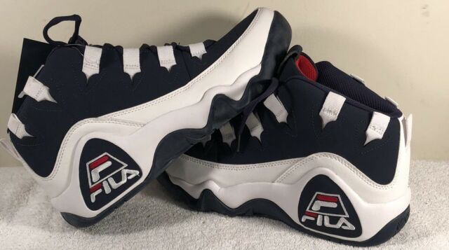 d54dbdf3c6e5 Fila 95 Grant Hill Mens Basketball Vintage Retro Navy White 11 for ...