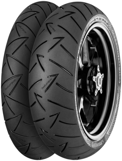 110//80R19 Front Continental Conti Road Attack 2 EVO Road Touring Radial Motorcycle Tire