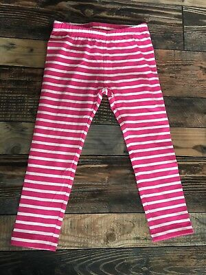 GYMBOREE NWT Mix N Match GIRLS LEGGINGS Navy Blue WHITE STRIPE KNIT 4t
