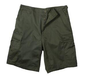 Rothco-7053-Olive-Drab-Rip-Stop-BDU-Shorts