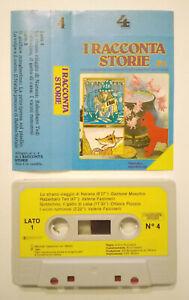 MC-Musicassetta-I-RACCONTASTORIE-4-gobbolino-rabarbaro-ted-babbo-natale-no-dvd