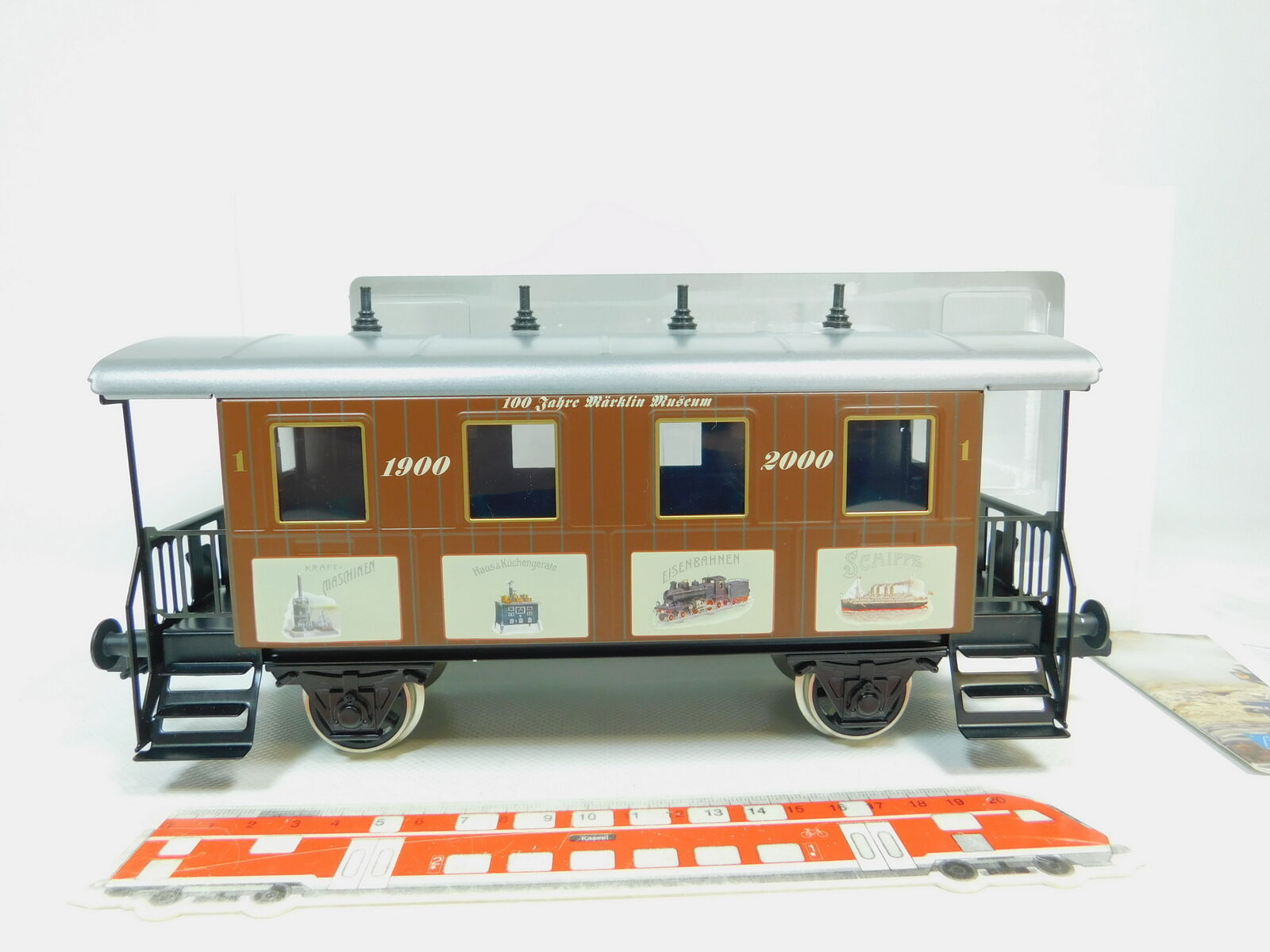 Bo243-2 marklin scale 1 AC 54708 wagons 1900 2000 100 years, new + ovp