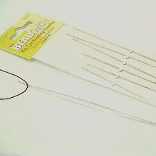 "Darice 10304 Bead Spinner Big Eye Curved Beading Needles 2//Pkg-4/"" 6Pk"
