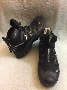 la moitié 5c88a 0e0fd Details about Salomon Forces XA Pro 3D Gore-tex MID Black Men's Size 12
