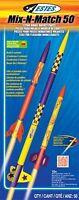 Estes Flying Model Rocket Kit Mix-n Match 50 2005