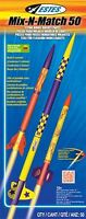 Estes Flying Model Rocket Kit Mix-n Match 50 2005