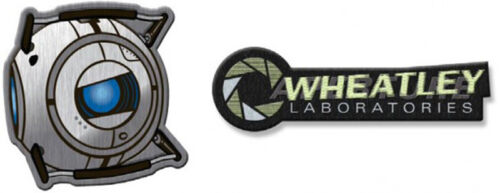 Portal 2 Wheatley Laboratories Collectible Patch Set ACC-P269