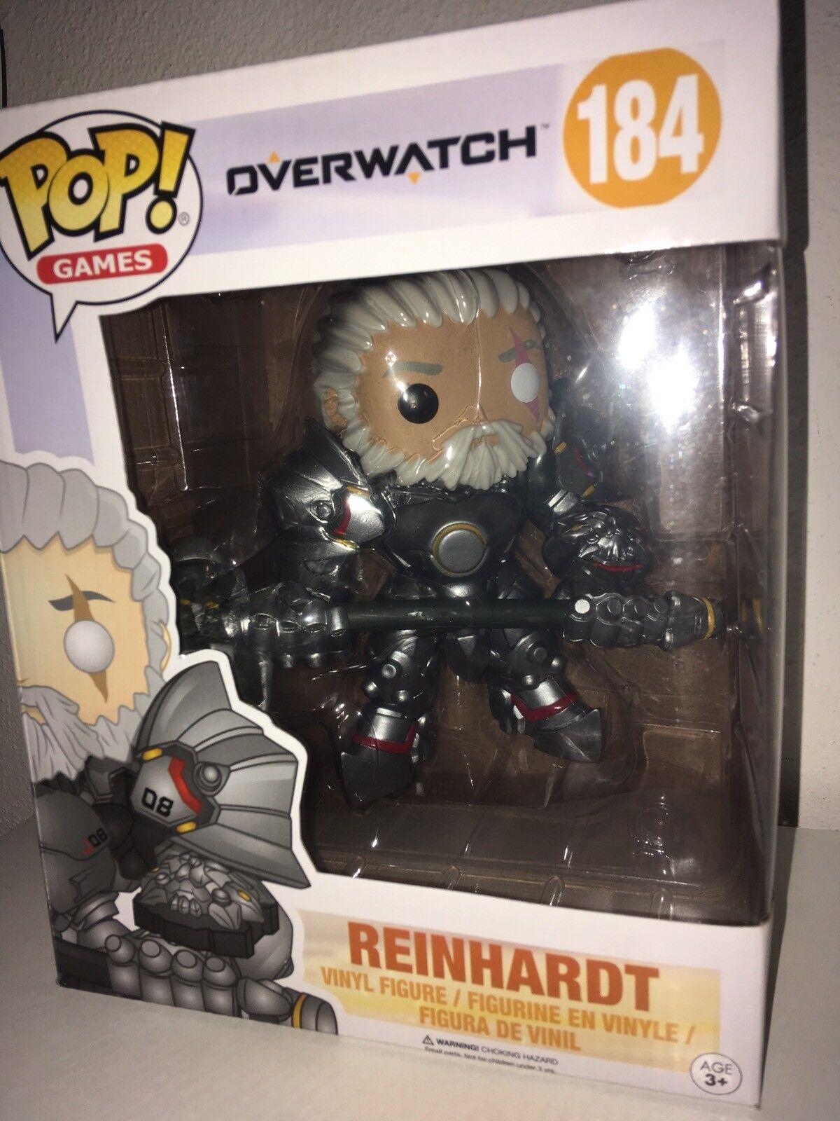 Overwatch Reinhardt Taglia Grande Pop  Vinile Personaggio  184 Funko 2017