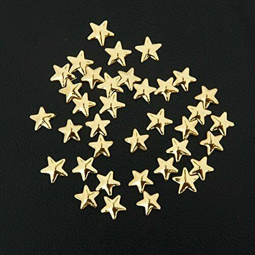 Threadart Specialty Nailhead 5 Gross Gold Star 5x5mm
