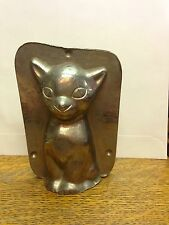 Cat Sitting Chocolate Mould Mold #16224 Vormenfabriek Tilburg,Holland