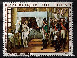 Stamp-New-Napoleon-Bonaparte-Paintings-Tchad-88M368