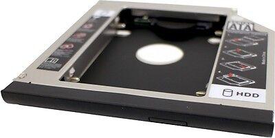 """Einbaurahmen für 2,5"""" SATA HDDs HP Elitebook / Probook / Compaq Multibay Schacht"""