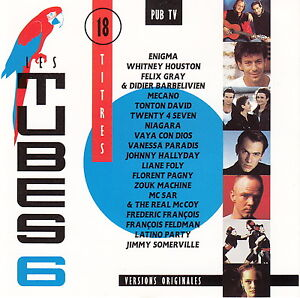 Compilation-CD-Les-Tubes-6-France-M-M