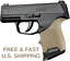 HOUGE-BEAVERTAIL-Handle-Grip-Synthetic-Sleeve-Palm-Grooved-SIG-SAUER-P365-GRIP thumbnail 1