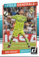 2015 DONRUSS SOCCER FIELD GENERALS #6 IKER CASILLAS REAL MADRID *7990