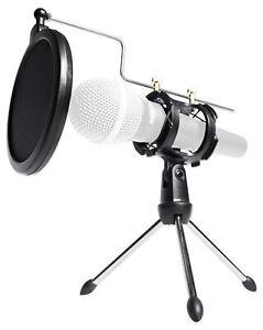 Rockville-RTMS21-Desktop-Tripod-Microphone-Stand-With-Pop-Filter-Shock-Mount
